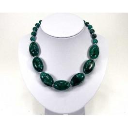 Collier fantaisie vert